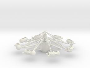 Skyfighter in White Natural Versatile Plastic