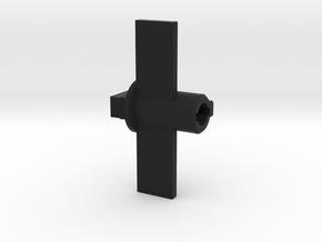 Car Model in Black Natural Versatile Plastic