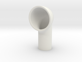 Vent 12.5mm base special in White Natural Versatile Plastic