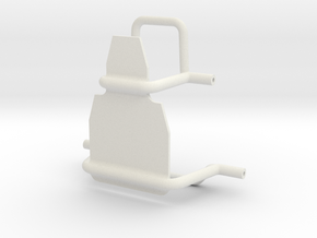 Axial SMT10 Low CG Speed Control Mount in White Natural Versatile Plastic