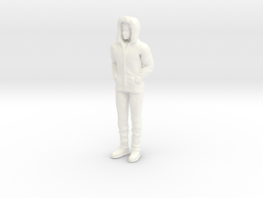 Lost in Space - Maureen - 1st Season Parka 1.24 in White Processed Versatile Plastic