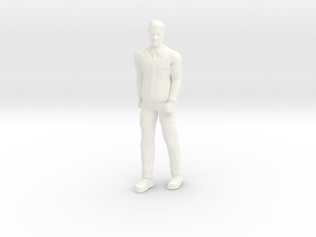 Lost in Space - Dr Smith - 1st Season Military - 1 in White Processed Versatile Plastic