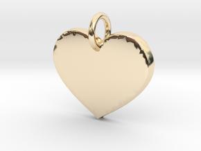 Loving Heart- Makom Jewelry in 14k Gold Plated Brass