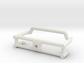 SMT10 Front Clip 2 Less Detail in White Natural Versatile Plastic