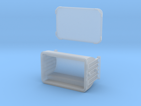 12 1/2 foot Anvil ore container HO scale in Smooth Fine Detail Plastic