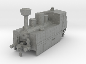 Locomotive 178 armored conversion 1:120 in Gray PA12
