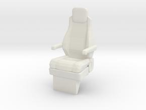 1:14 MAN F90 Feuerwehr Fire Brigade Seats in White Natural Versatile Plastic