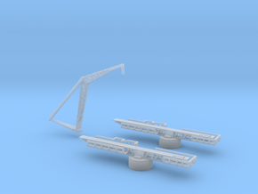 1/500 Scale USN Aircraft Handing Set in Smooth Fine Detail Plastic