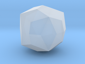Joined Truncated Octahedron - 10 mm in Smooth Fine Detail Plastic