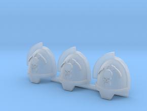 Skull and Scythe Gravus pads x3 L #3 in Smoothest Fine Detail Plastic