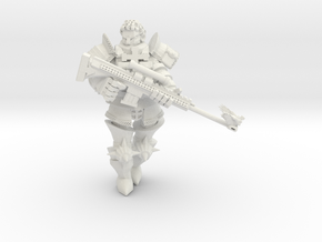 Ministeriale Rifleman in White Natural Versatile Plastic