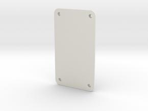 Darwin Mini Sole in White Natural Versatile Plastic