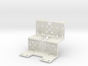 Darwin Mini Frm Body in White Natural Versatile Plastic
