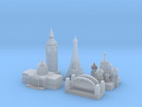 World War 2 Allied Capitals in Smoothest Fine Detail Plastic