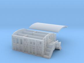 Listowel Lartigue Brake Van (N Scale) in Smooth Fine Detail Plastic