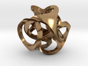 Ora, textured in Natural Brass
