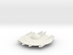 Selenite Annihilator Saucer in White Natural Versatile Plastic