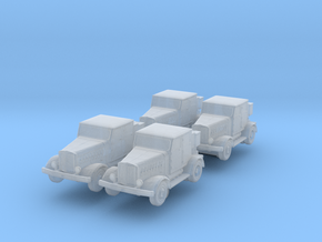 Hanomag SS100 LN (x4) 1/350 in Smooth Fine Detail Plastic