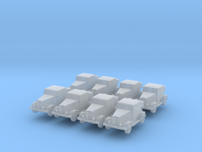 Hanomag SS100 LN (x8) 1/500 in Smooth Fine Detail Plastic