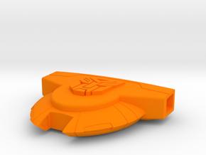 AutobotShuttle 86 in Orange Processed Versatile Plastic
