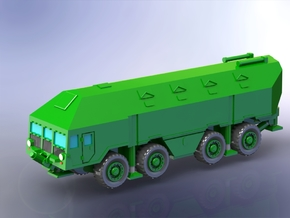 MaZ 543 Reduit mobile Bunker (driving) 1/160 in Smooth Fine Detail Plastic