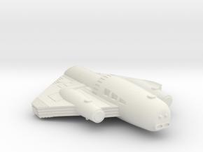 3788 Scale ISC Light Battle Transport SRZ in White Natural Versatile Plastic