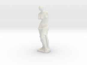 Venus de Milo (1:87) in White Natural Versatile Plastic