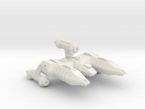 3125 Scale Lyran X-Ship Advanced Destroyer (DWX) in White Natural Versatile Plastic