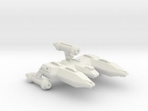 3125 Scale LDR X-Ship War Destroyer (DWX) CVN in White Natural Versatile Plastic