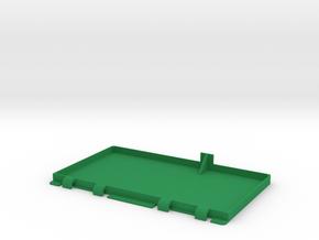 Trapdoor for 1980s Castle Grayskull in Green Processed Versatile Plastic
