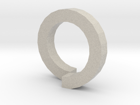 DE RiNG in Natural Sandstone