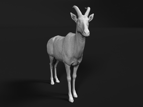 Topi 1:45 Standing Male in Smooth Fine Detail Plastic