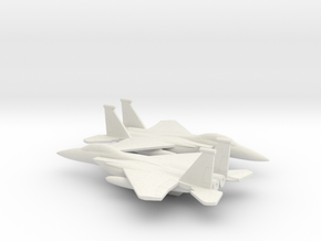 McDonnell Douglas F-15E Strike Eagle in White Natural Versatile Plastic: 1:350