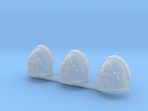 White Knights Gravus pads x3 R #1 in Smooth Fine Detail Plastic