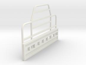 Rubber Duck-Bullbar-1to50 in White Natural Versatile Plastic