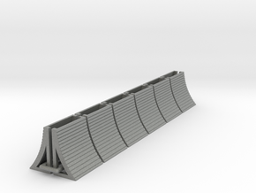 1:400 Blast Fence 12pc in Gray PA12
