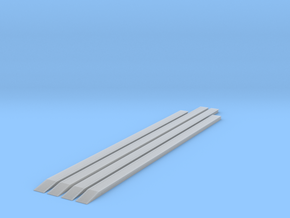 2 x 225, 2 x 250 + Ramps - T - 1:450 in Smooth Fine Detail Plastic