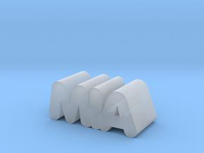 Mia in Smooth Fine Detail Plastic
