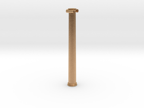Ionic Column in Natural Bronze: Extra Small