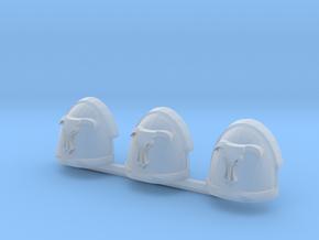 Minotaurs Gravus shoulder pads x3 R #1 in Smoothest Fine Detail Plastic