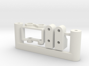 7054 - FF210 Small Chassis Parts in White Natural Versatile Plastic
