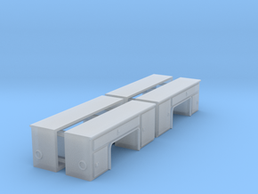 1/64th Step Side Toolboxes - Lowered in Smooth Fine Detail Plastic