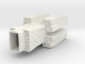LOGH Imperial Jotunheim 1:3000 (Part 2/2) in White Natural Versatile Plastic