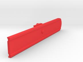 Signal SemaphoreBlade (Square End) 1:19 Scale in Red Processed Versatile Plastic