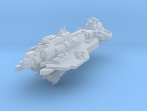 "UNSC battlecruiser Hope`s Defiance 4""(custom) in Smooth Fine Detail Plastic"