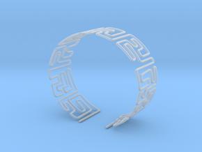 Maze Bracelet Size S in Smooth Fine Detail Plastic