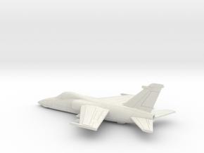 001T AMX in Flight 1/200 in White Natural Versatile Plastic