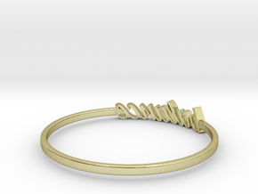 Astrology Ring Balance US8/EU57 in 18K Yellow Gold