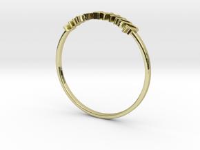 Astrology Ring Taureau US5/EU49 in 18K Yellow Gold
