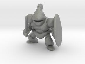 Living Armor miniature model fantasy games dnd rpg in Gray PA12